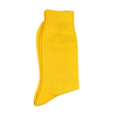 Ciorapi grosi fashion barbati UOMO galben ART 320