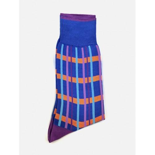 ART 3419-4 Ciorapi fashion barbati RIGHT LEFT model geometric
