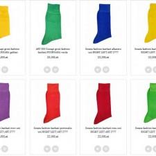 Șosetele colorate înveselesc ținuta și starea de spirit