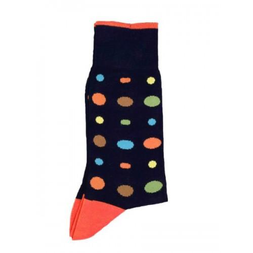 ART 3457-3 Ciorapi fashion barbati RIGHT LEFT model buline multicolore