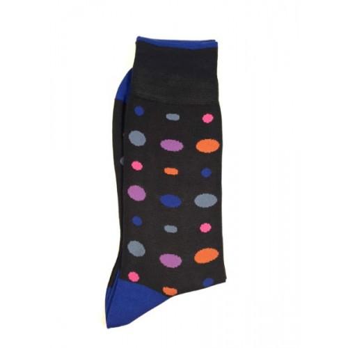 ART 3457-4 Ciorapi fashion barbati RIGHT LEFT model buline multicolore