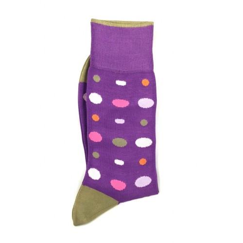 ART 3457-2 Ciorapi fashion barbati RIGHT LEFT model buline multicolore