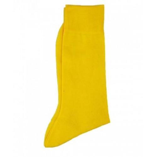 Sosete fashion barbati galben uni  RIGHT LEFT  ART 2777