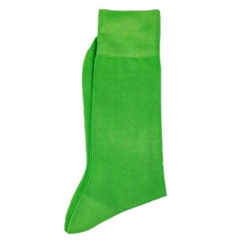 Sosete fashion barbati verde uni  RIGHT LEFT ART 2777