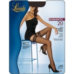 Ciorapi dama cu banda adeziva ROMANTIC 20 DEN LEVANTE